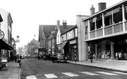 Kettering, Montague Street c.1955