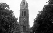 Kettering, St Peter And St Paul's Church 1922