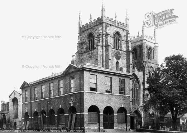 Kings Lynn, St Margaret's Church And The Shambles 1891