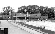 Kingsbury, Swimming Pool, Kingsbury Road c1955