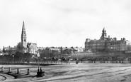 Kingstown, Church And Royal Marine Hotel 1897