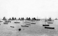 Kingstown, Harbour Fishing Fleet 1897