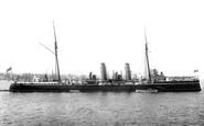 Kingstown, Hms Pelorus 1897