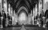 Kingstown, St Michael's Rc Church Interior 1897