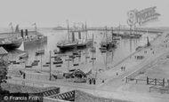 Kingstown, The Harbour 1897