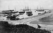 Kingstown, The Harbour c.1880