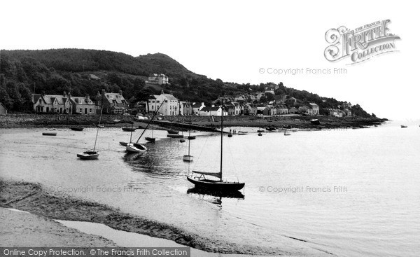 Photo of Kippford, the Harbour c1955