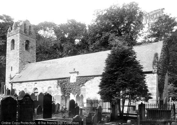 Kirk Braddan, The Old Church 1893