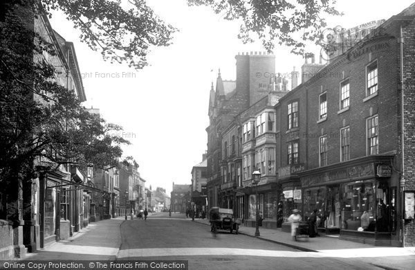 Knaresborough, High Street 1921 - Francis Frith: www.francisfrith.com/knaresborough/knaresborough-high-street-1921...