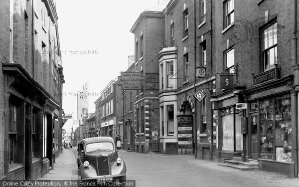 Knutsford, Royal George Hotel, King Street c.1955