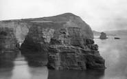 Ladram Bay, 1890