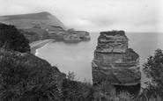 Ladram Bay, And Peak Hill 1918