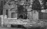 Lancaster, Building A Wall, The Infirmary 1896