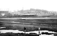 Lancaster, From Skerton Bridge 1918