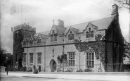 Lancaster, Grammar School And Rc Church c.1885