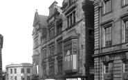 Lancaster, King's Arms Hotel c.1955