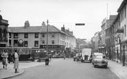 Lancaster, Market Square c.1955