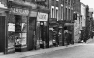 Lancaster, Shops On Penny Street c.1950