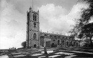 Lancaster, St Mary's Church 1896