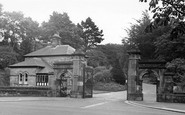 Lancaster, The Entrance To Williamson Park c.1955