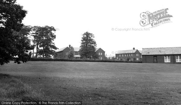 Langho, Brockhall Hospital c.1965