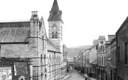 Photo of Larne, Town Hall, Cross Street 1900