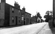Latchingdon, the Street c1955