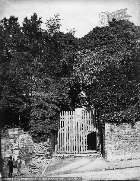 Launceston Castle West Gate Francis Frith