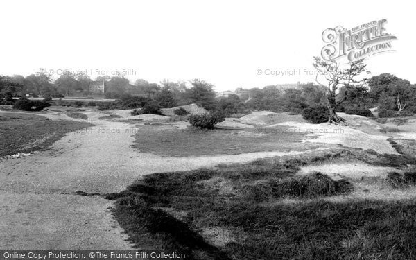 Leytonstone, Whipps Cross, View From Hollow Pond 1906