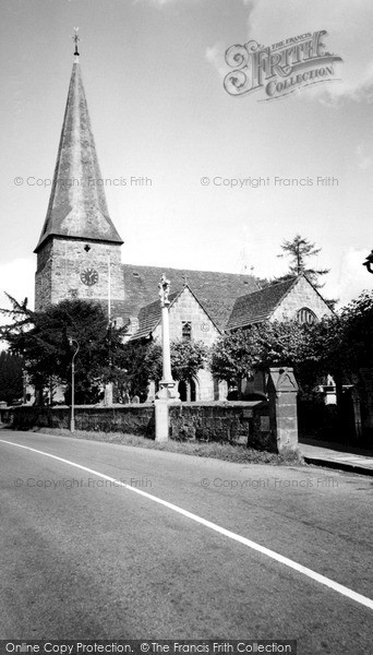 Lindfield, All Saints Church c.1960