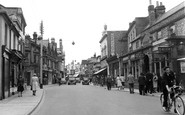 Littlehampton, High Street c.1955