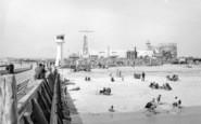 Littlehampton, The Sands c.1955