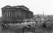 Liverpool, Lime Street And St George's Hall 1895