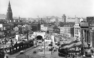 Liverpool, Mersey Tunnel, From Wellington Column c.1960