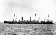 Liverpool, Ss Majestic, White Star Line 1890