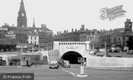 Liverpool, the Mersey Tunnel c1955