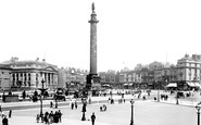 Liverpool, The Waterloo Column And Commutation Row 1895
