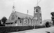 Llanbradach, The Church c.1955