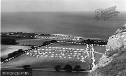 Llanddulas, the Caravan Site c1960