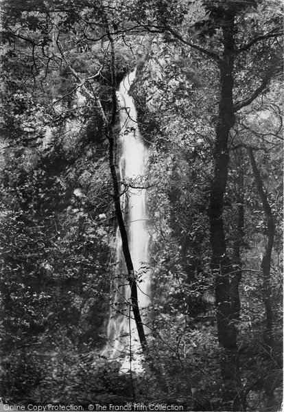 Llanrwst, White Mare's Tail Cascade 1895