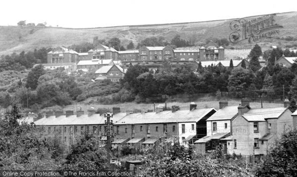 Llwynypia, The Hospital c.1955