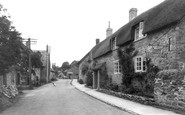 Loders, the Village c1955