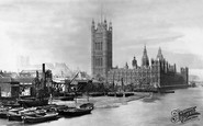 London, Houses Of Parliament 1897