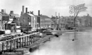 London, Lambeth, The Riverside c.1865
