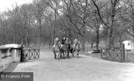 London, Riding in Green Park c1955