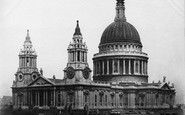 London, St Paul's Cathedral c.1867