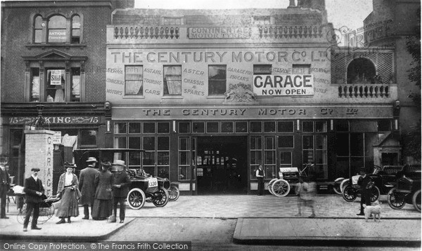 London The Century Motor Co Ltd Francis Frith