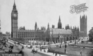 London, The Houses Of Parliament 1886