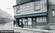 London, The Old Curiosity Shop c.1875