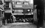 London, The Talbot Inn (On Site Of The Tabard Inn), Southwark  c.1870